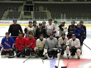 Roughnecks Hoyckey Team's første trening i DNB Arena